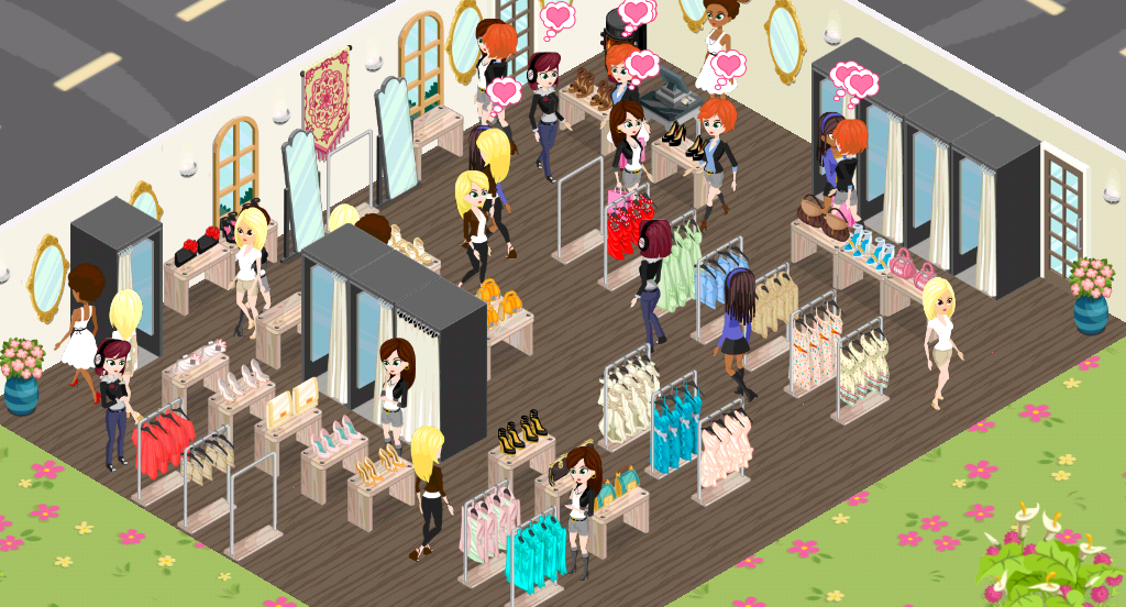 A Fashion Story Game fashion story